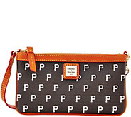 Dooney & Bourke MLB Pirates Large Slim Wristlet - A280129