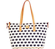 Dooney & Bourke NCAA Penn State University Zip Top Shopper - A283229