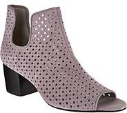 Lori Goldstein Collection Peep Toe Booties - A292329