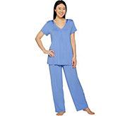 Carole Hochman Modal Spandex Satin Pajama Set - A292529