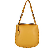 Plinio Visona Italian Leather Shoulder Bag - A293829