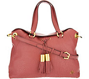 As Is orYANY Lamb Leather Satchel Bag - Kristen - A300229
