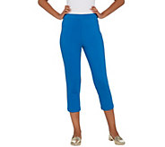 Joan Rivers Petite Joans Signature Pull-On Crop Pants - A301829