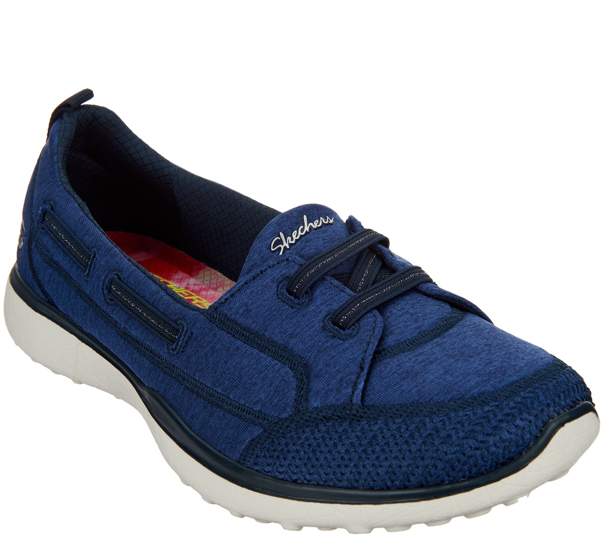 db6f94fb01d1 Skechers Microburst Bungee Slip-On Shoes -Topnotch - Page 1 — QVC.com