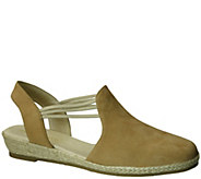 David Tate Leather Espadrilles - Nelly - A339629