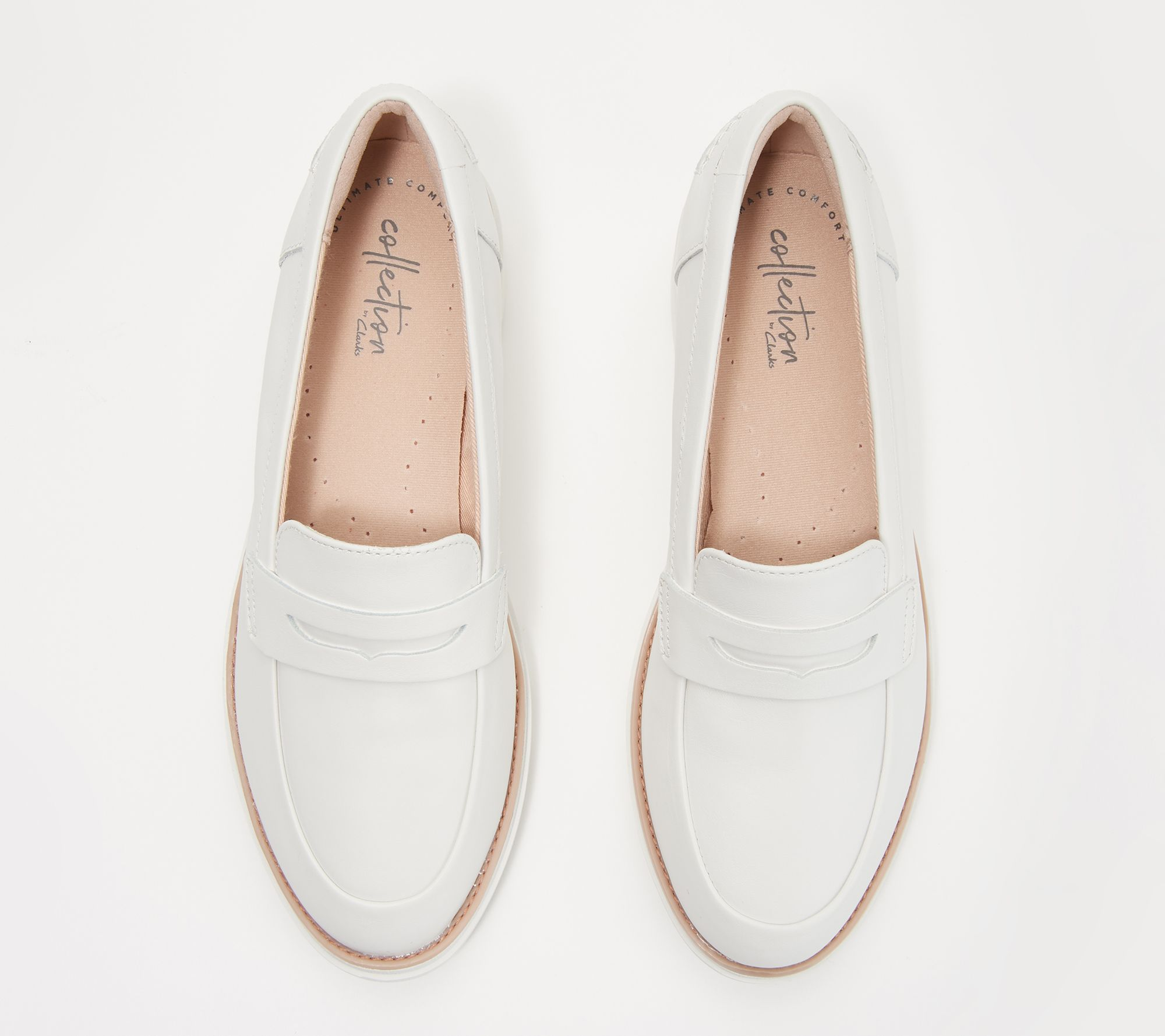 4d992401b5a9a Clarks Collection Leather Loafers - Sharon Ranch - Page 1 — QVC.com