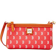 Dooney & Bourke MLB Red Sox Large Slim Wristlet - A280130