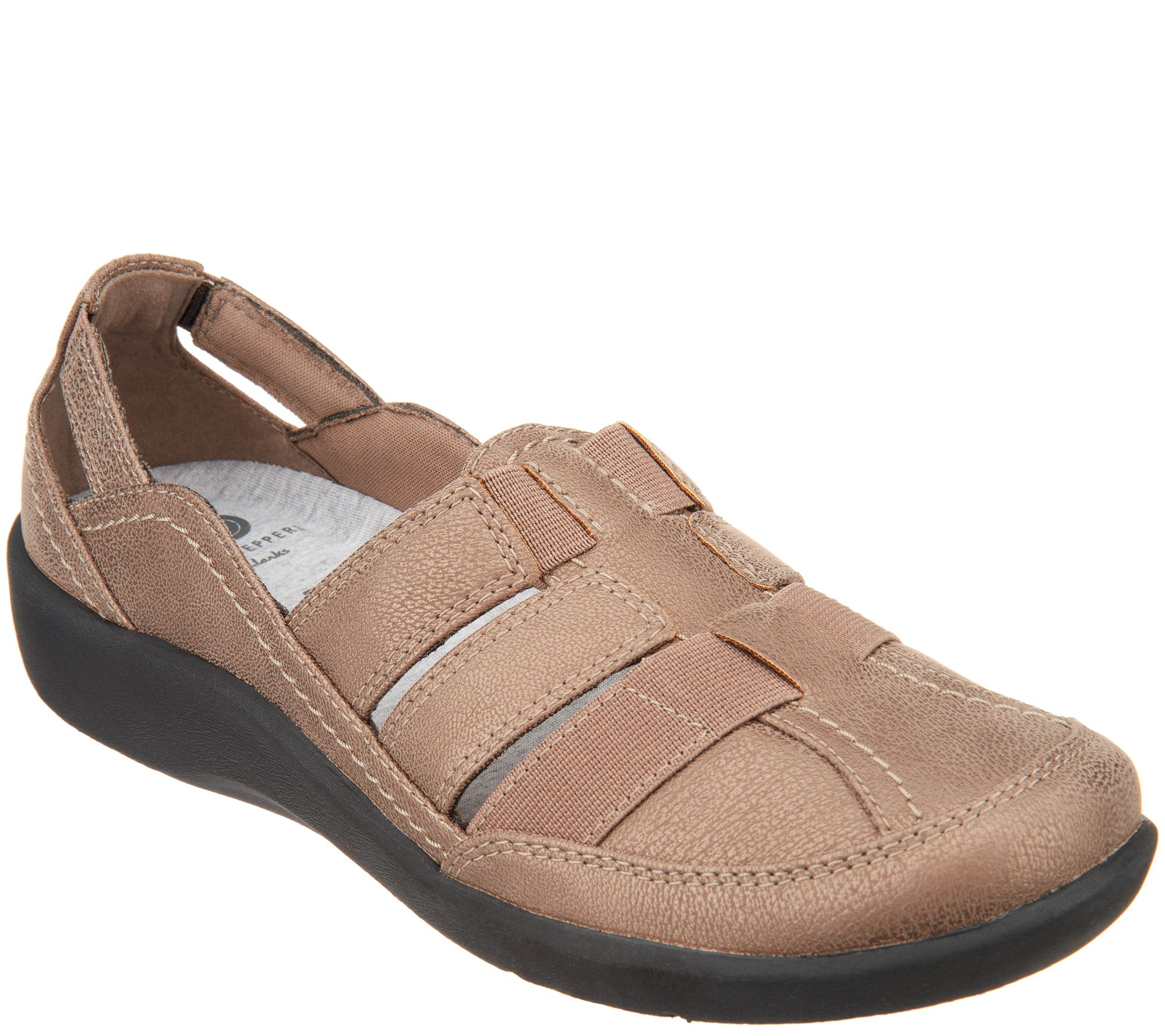 ebe36376e1a CLOUDSTEPPERS by Clarks Slip-on Shoes - Sillian Stork - Page 1 — QVC.com