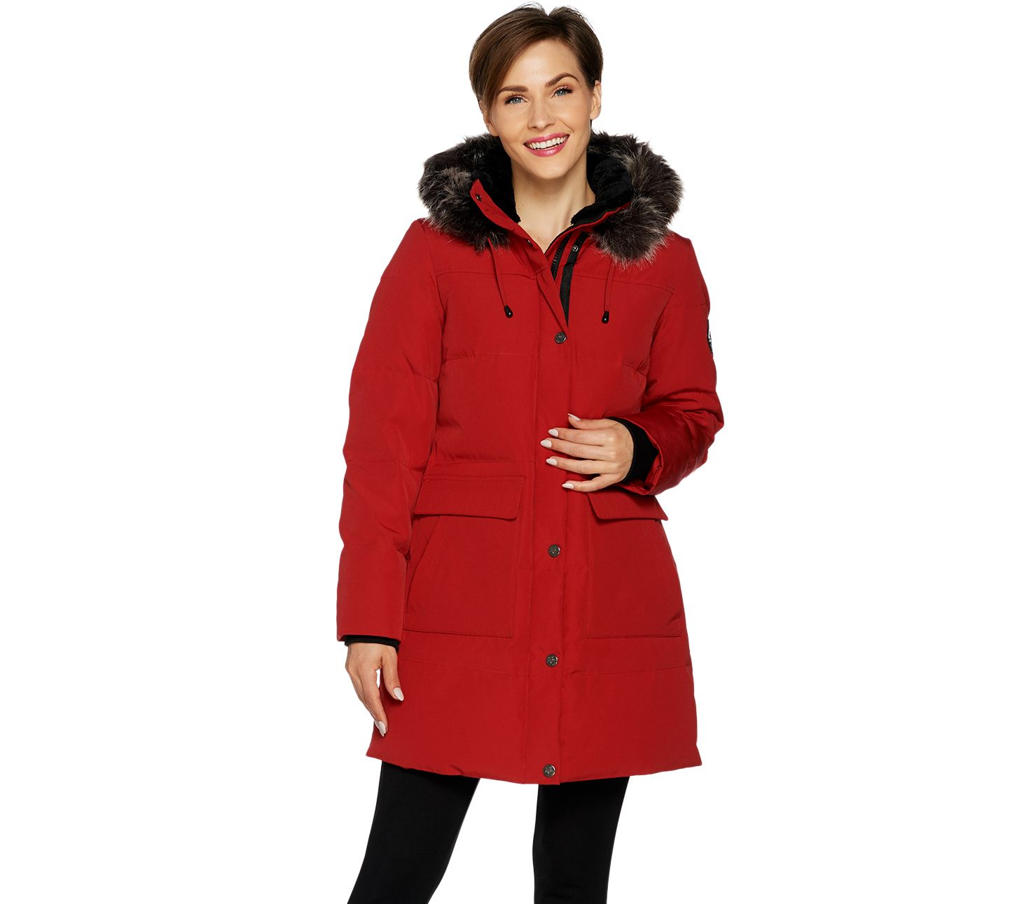1955af9f0b7 Arctic Expedition Women s Quilted Down Coat - Page 1 — QVC.com