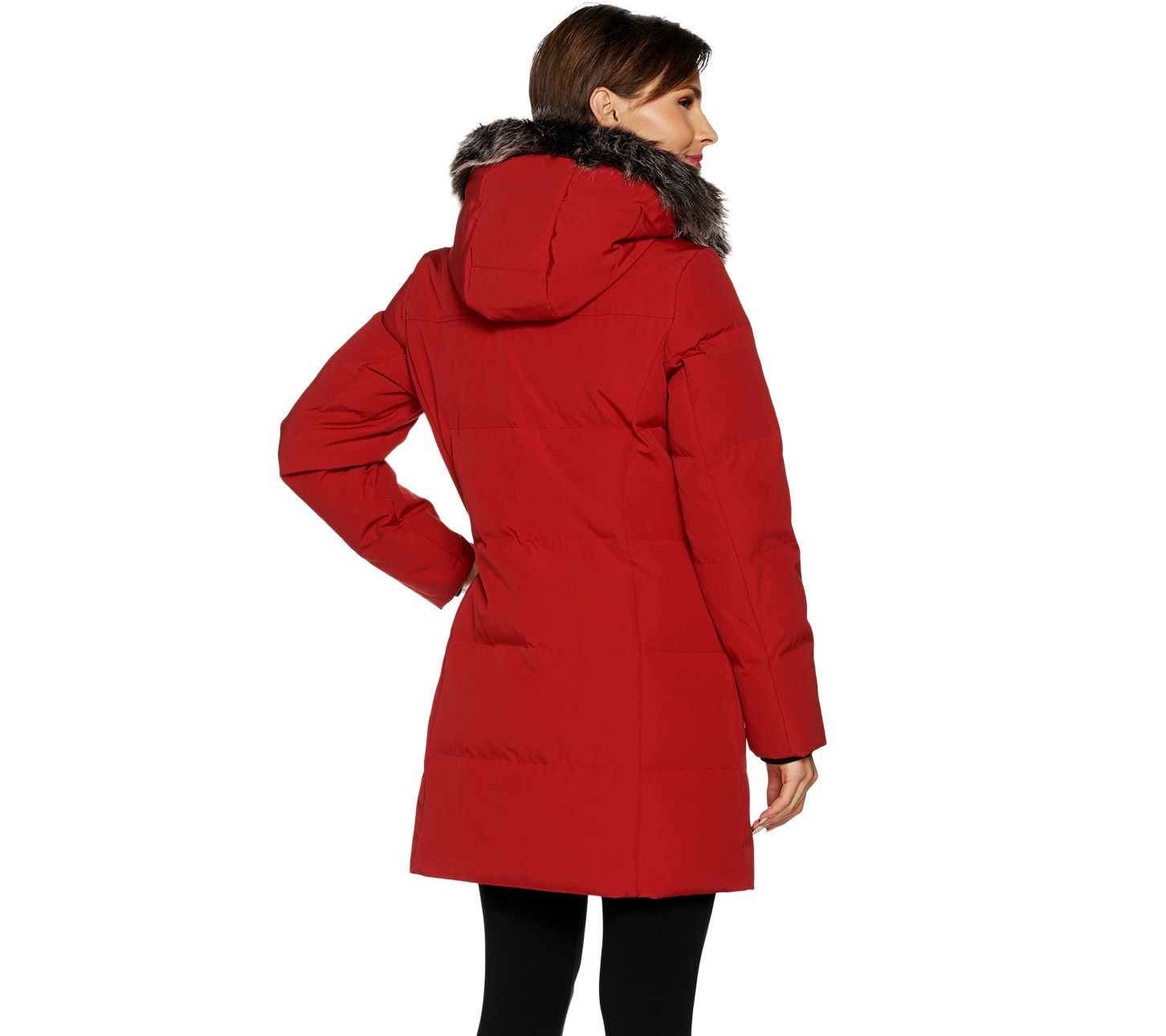 b687a26154 Arctic Expedition Women s Quilted Down Coat - Page 1 — QVC.com