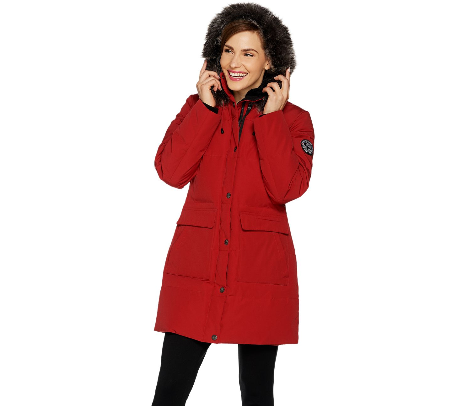 3db3520b5f05 Arctic Expedition Women s Quilted Down Coat - Page 1 — QVC.com