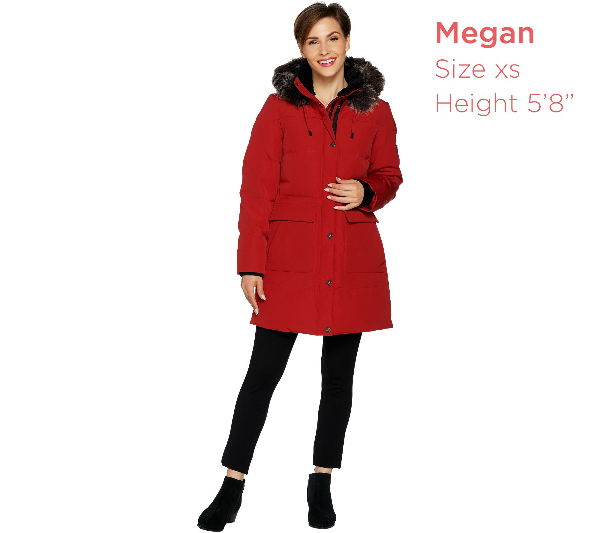 8d713faad81 Arctic Expedition Women s Quilted Down Coat - Page 1 — QVC.com