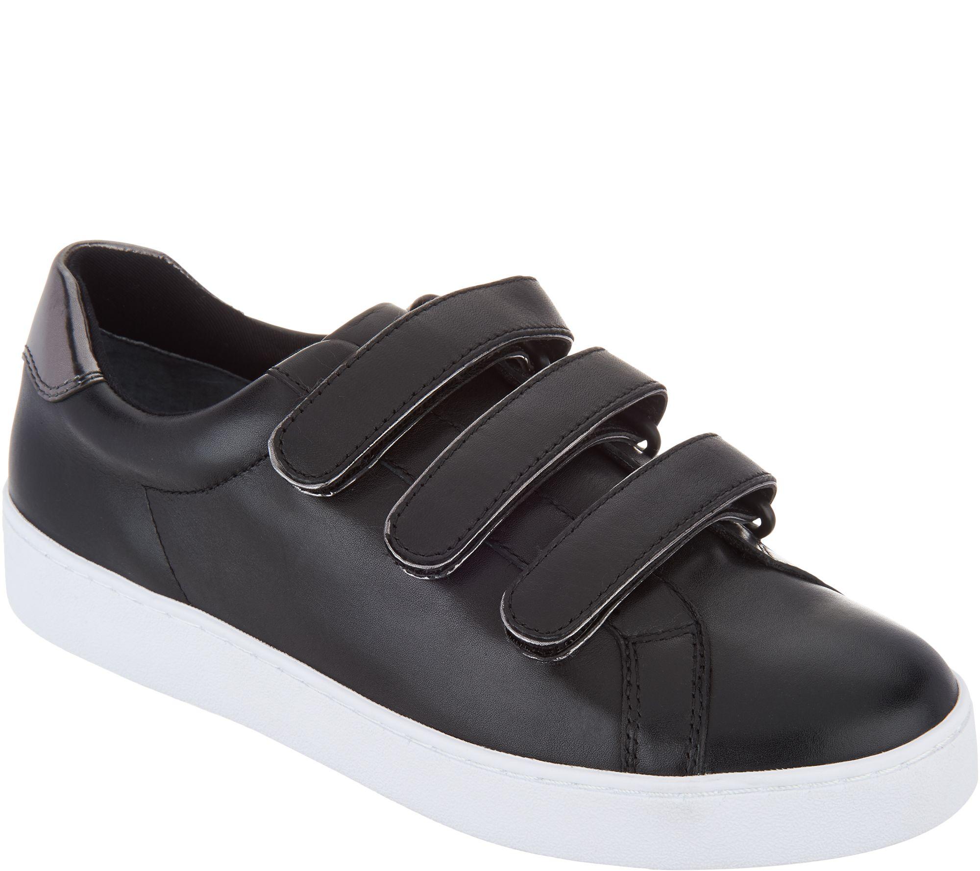 a483d505a98bb Vionic Leather Sneakers - Bobbi - Page 1 — QVC.com