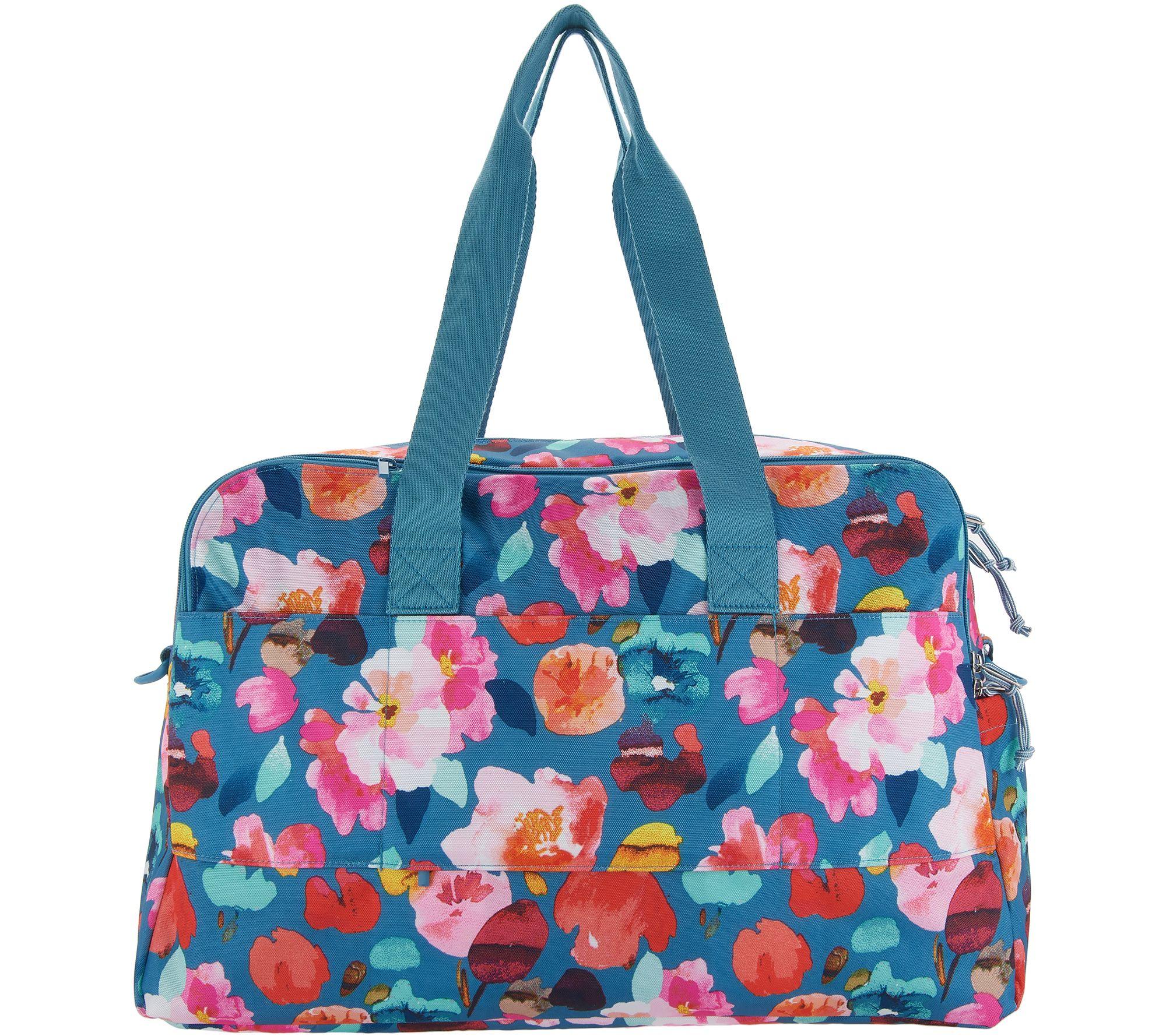 317fbca20cf6 Vera Bradley Lighten Up Weekender Travel Bag w  Cosmetic Case - Page ...