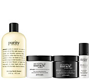 philosophy anti-wrinkle miracle worker plus  4-piece skincare kit - A350530