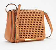 Vince Camuto Leather Flap Crossbody Bag - Hope - A352330