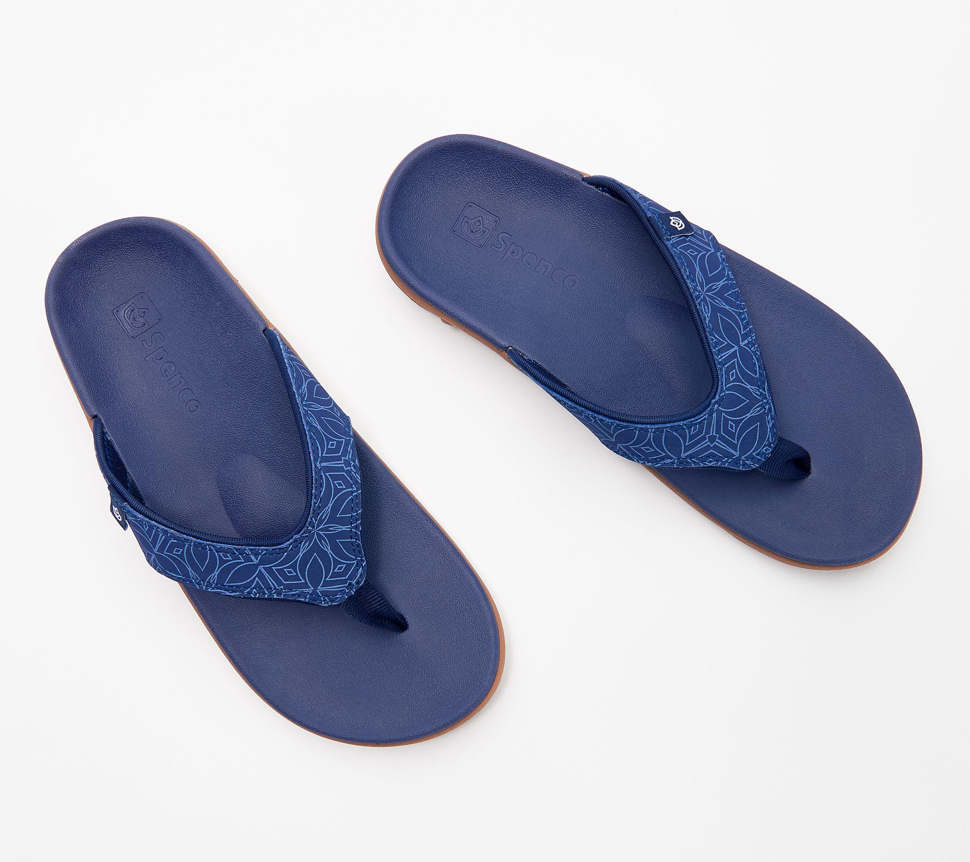 All Sizes Spenco Yumi Men/'s Orthotic Flip Flops All Colors