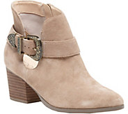 Sole Society Leather Ankle Boots - Jax - A362130