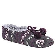 MUK LUKS Womens Ballerina Slippers - A362230
