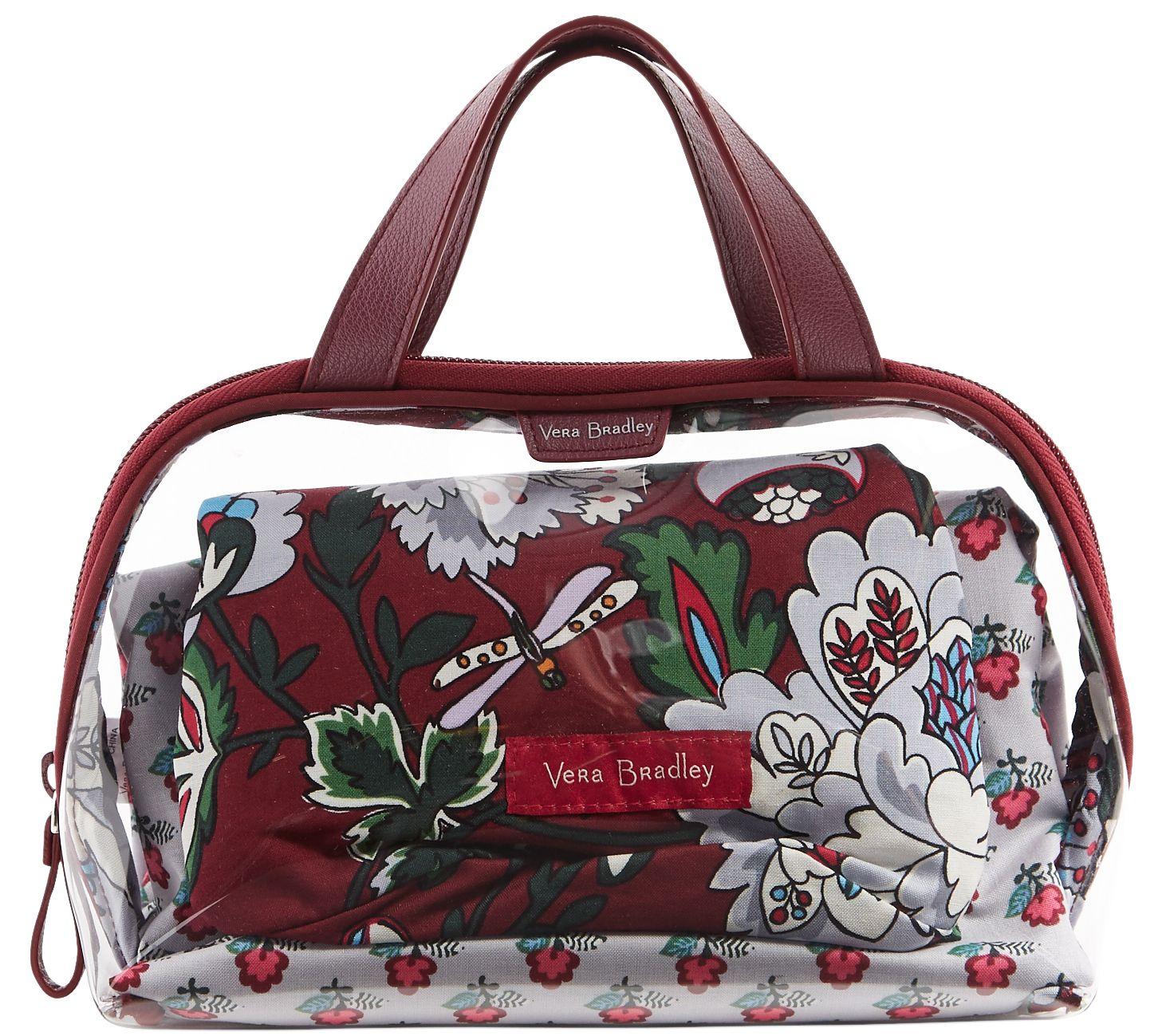 Vera Bradley Signature Mini Ditty Gift Set — QVC.com bee15a8ae7662
