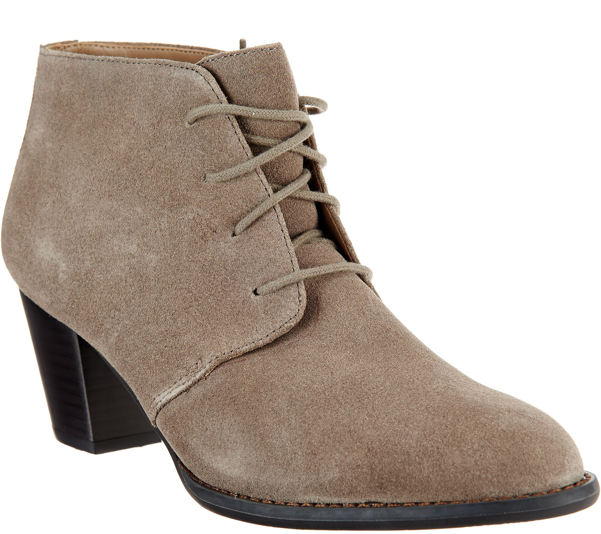 Vionic Suede Lace-up Boots - Zenda clearance cheap sLgNI