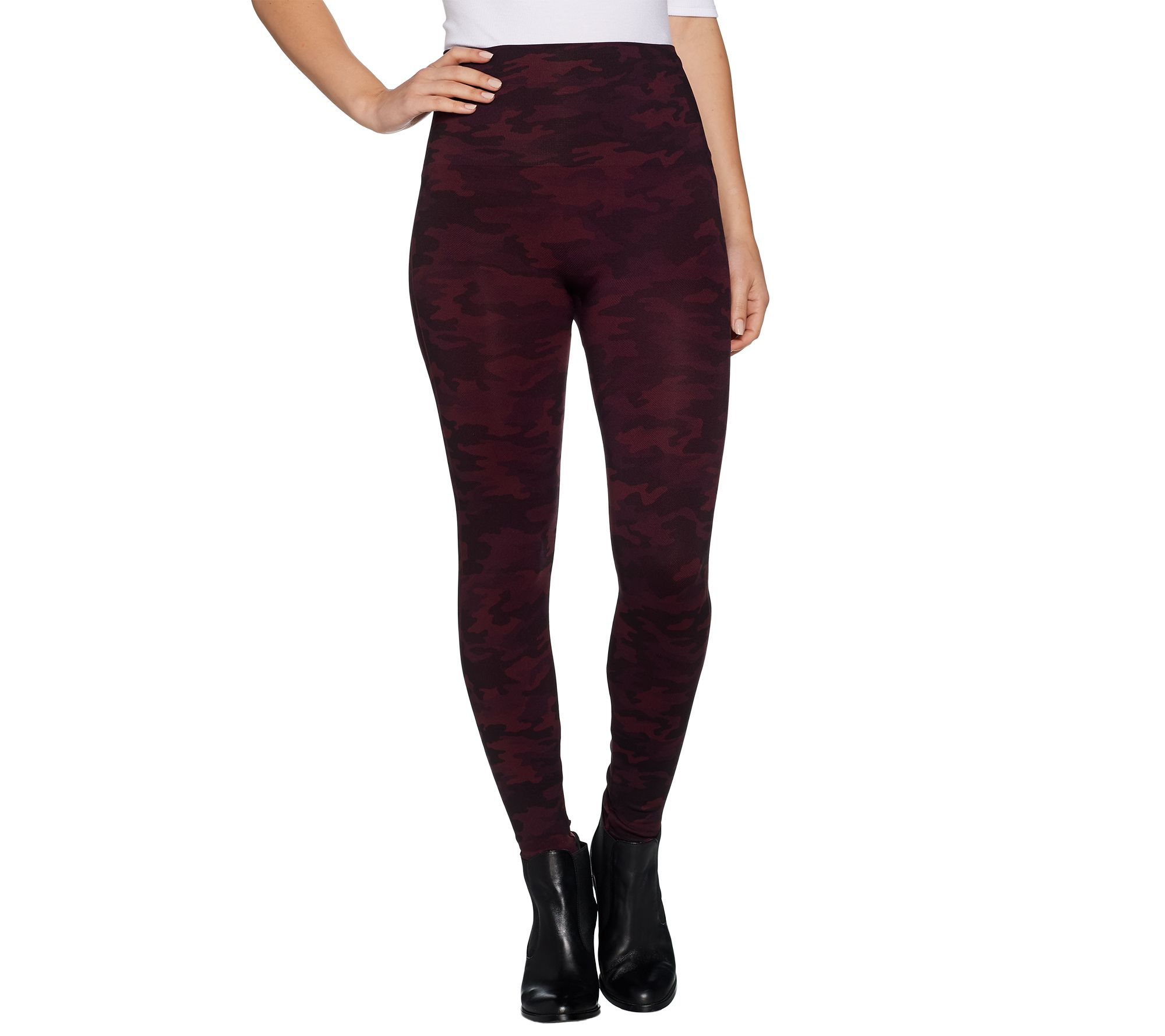 83861e681 Spanx Look at Me Now Seamless Leggings - Page 1 — QVC.com