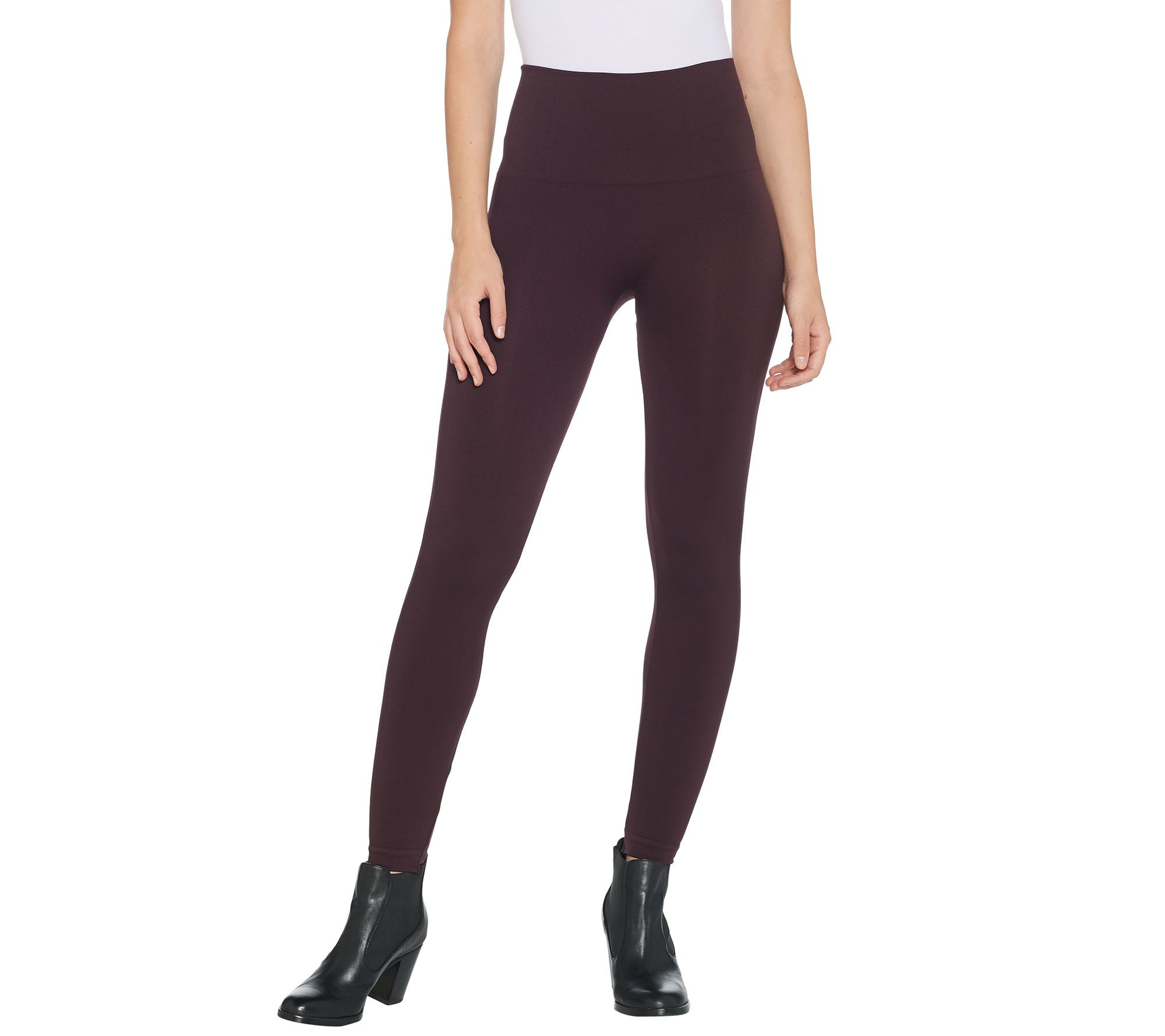 3d40f3ba67b4 Spanx Look at Me Now Seamless Leggings - Page 1 — QVC.com