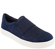 Earth Origins Perforated Leather Slip-On Shoes - Melissa - A311331
