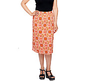 Liz Claiborne New York Pull-On Fully Lined Gauze Skirt - A253732