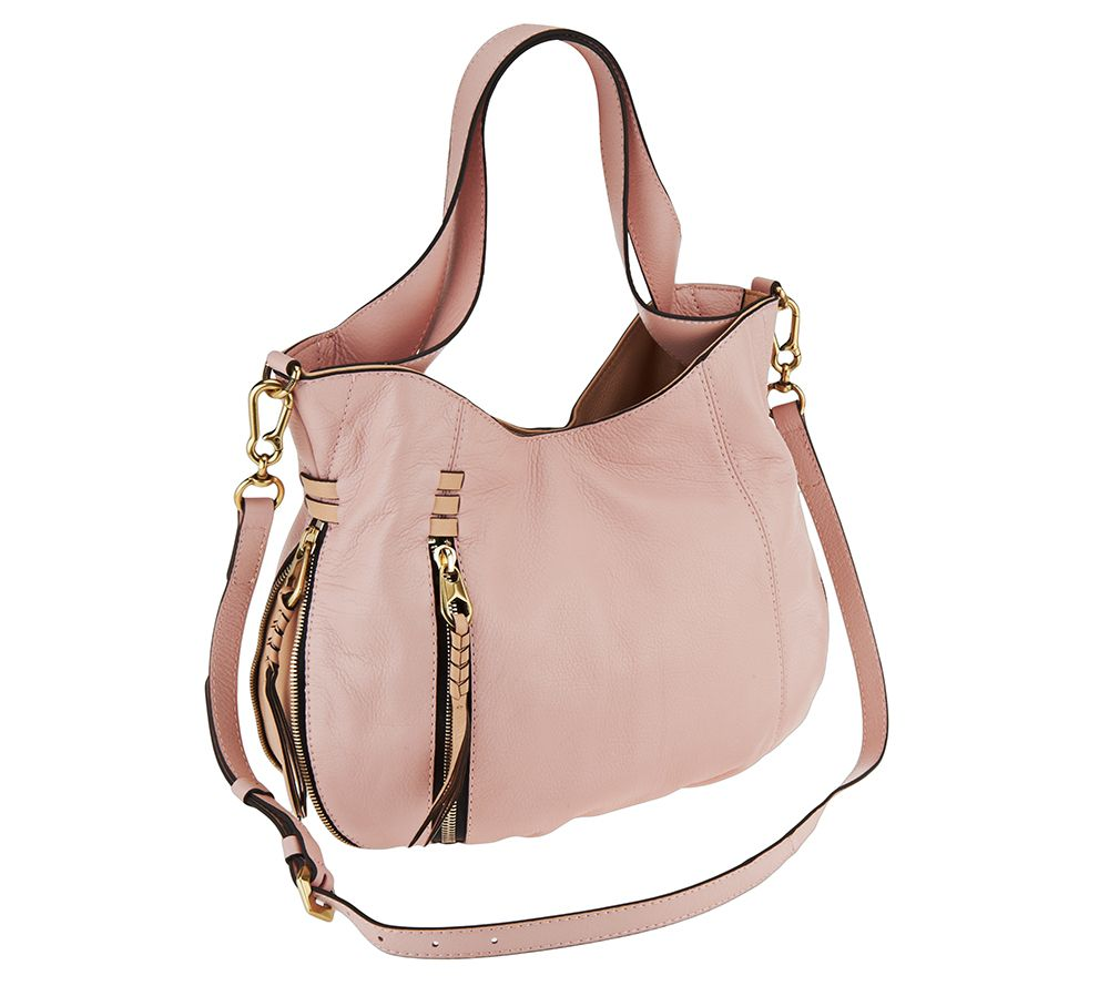 Oryany Italian Leather Convertible Shoulder Bag Melanie Page 1 Qvc