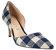 Sole Society Printed Mid-heel Pumps - Jenn - A268432
