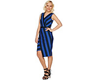 G.I.L.I. Milano Ponte Printed Stripe Dress - A277132