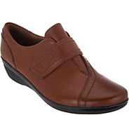 Clarks Leather Monk Strap Shoes - Everlay Dixie - A296332