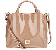 Dooney & Bourke Small Patent Leather Satchel- Brenna - A305032