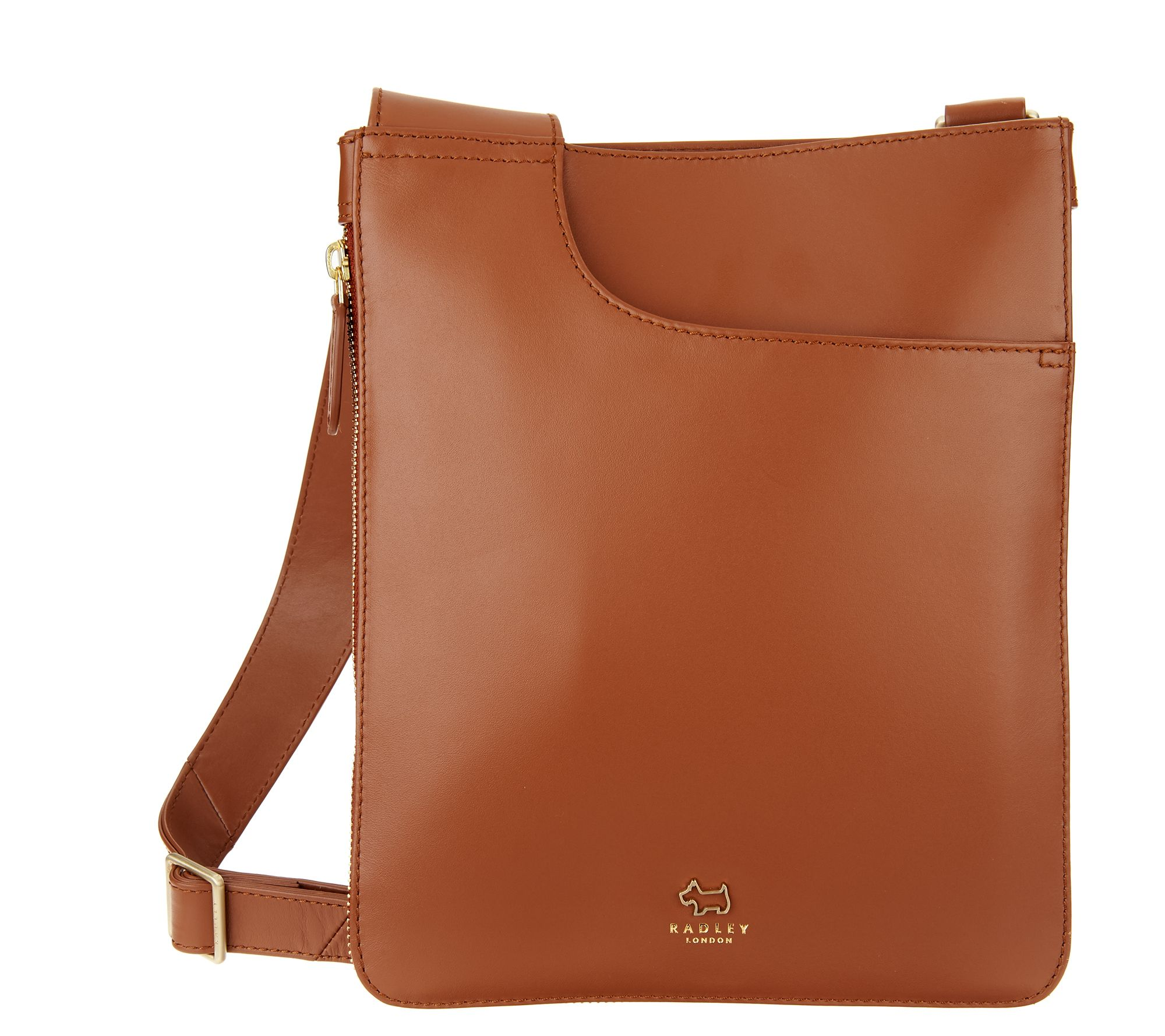 a56d03d43f RADLEY London Medium Pockets Leather Crossbody Handbag - Page 1 — QVC.com