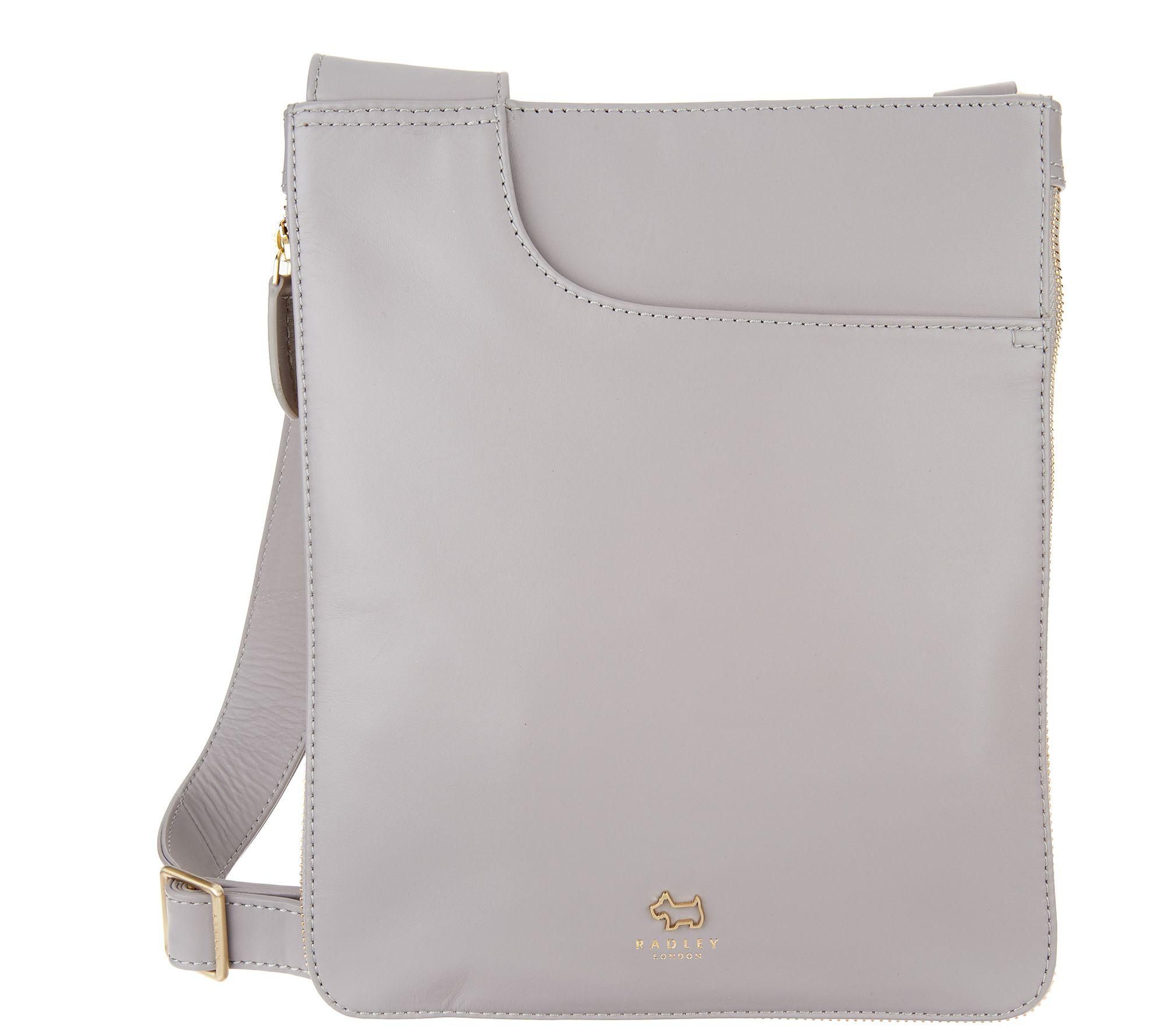 7288bf79ad86 RADLEY London Medium Pockets Leather Crossbody Handbag - Page 1 — QVC.com