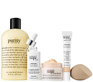philosophy hope shines brightest 5-piece renewed skin kit - A307132