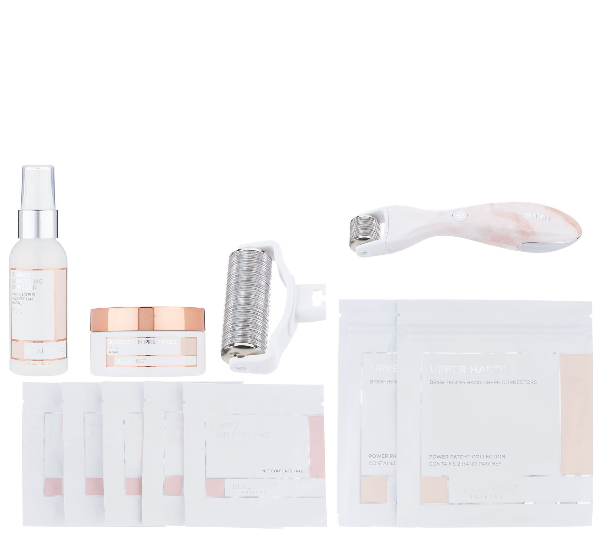 304fa07515b BeautyBio GloPRO Facial Tool w Body Attachment   Pads - Page 1 — QVC.com