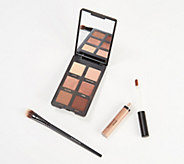 bareMinerals Gen Nude Eyeshadow Palette with Primer & Brush - A366532