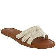 MIA Shoes Flat Slide Sandals - Liri - A411632