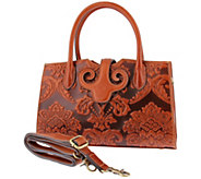 LArtiste by Spring Step Leather Handbag - Lotus - A423032
