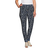 C. Wonder Pull-on Mixed Print Woven Pants with Drawstring - A276233