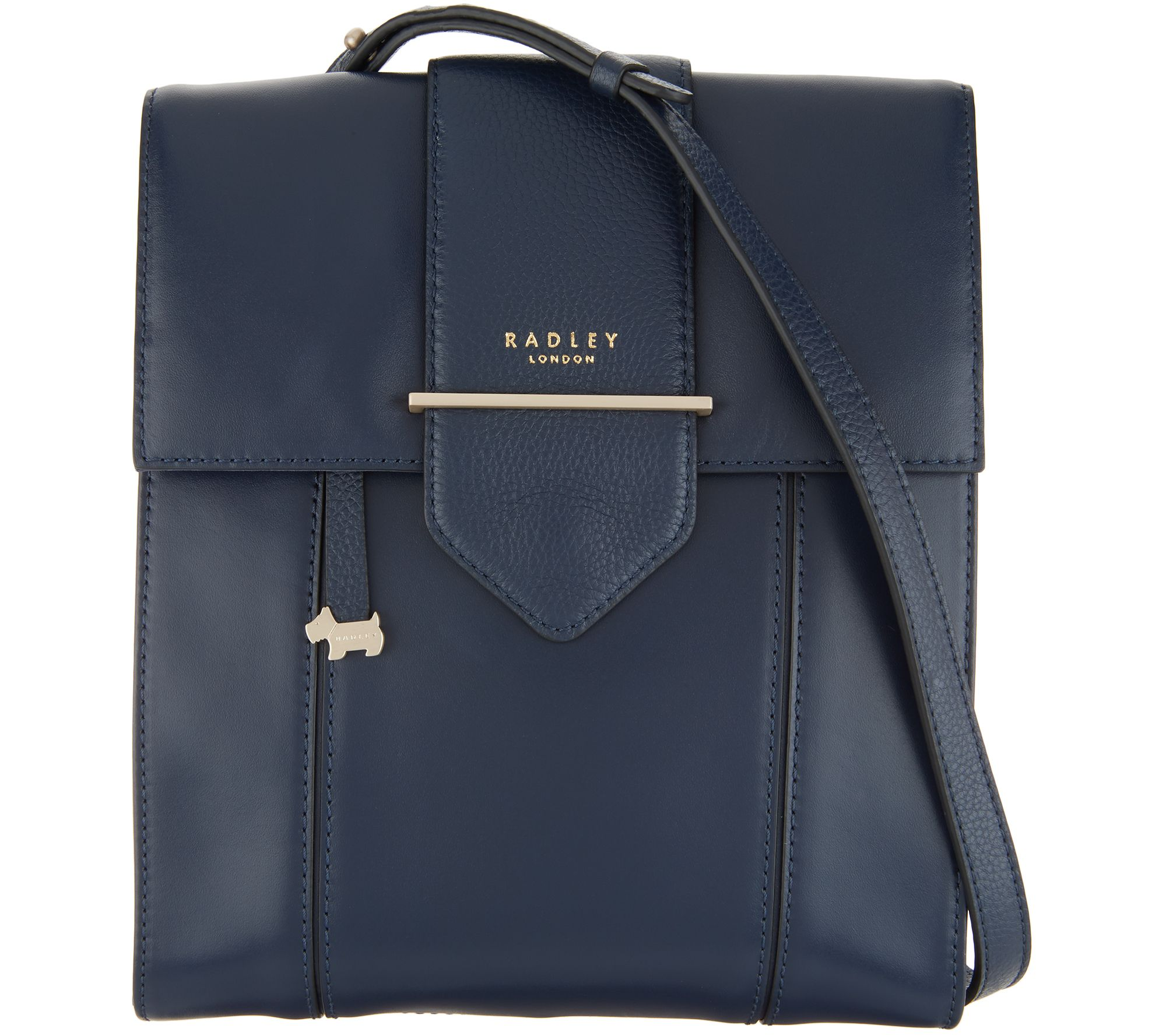 8207ba4c922c RADLEY London Leather Palace Street Crossbody — QVC.com
