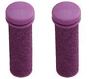 Emjoi Micro-Pedi Extreme Coarse Purple Flex Rollers - A337633