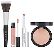 Mally The Rose Gold 3-Piece Collection with Brush - A344533