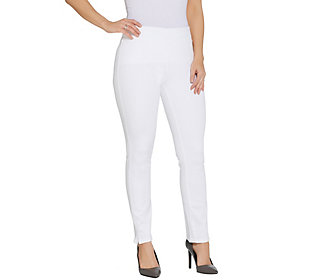 NYDJ Alina Pull-on Ankle Jeans- Optic White