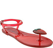 Katy Perry Scented Jelly Thong Sandals - The Geli - A347234