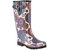 Nomad Rubber Rain Boots - Puddles Flower Burst - A355434