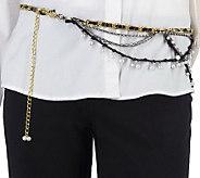 Kelli Kouri Glitz & Glamour Adjustable Belt/Necklace - A215735