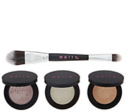 Mally Effortlessly Airbrushed Highlighter Trio w/ Brush - A298535
